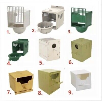 Plastic Canary / Finch Nest Box-Bird Nest Breeding Boxes For Bird Cage Fixing