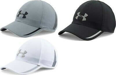 5268c113bf9 NWT Under Armour Men s Shadow Armourvent Reflective Cap Hat Running  Adjustable