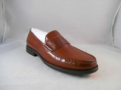 5dd011afda5 Johnston and Murphy Chadwell Tan Italian Calfskin Penny Loafers Men s Size  11 M