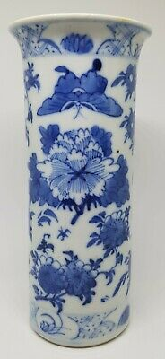 GOOD ANTIQUE CHINESE PORCELAIN BLUE AND WHITE 19th CENTURY VASE