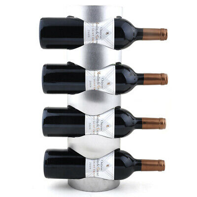 Organizador de vino de montado en la pared de acero inoxidable Bottle Rack