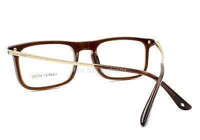 ce4838e601b GIORGIO ARMANI AR 7044 5307 Men s Eyeglasses Frames Transparent Brown ~ 53mm