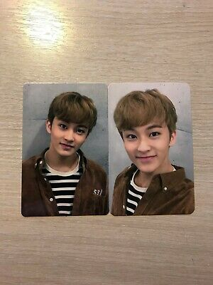 NCT 2018 Fan Party Collect Book Ticket Holder Mark Photocards