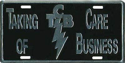 "Elvis TCB LICENSE PLATE NEW WITH TAG 6"" X 12"""