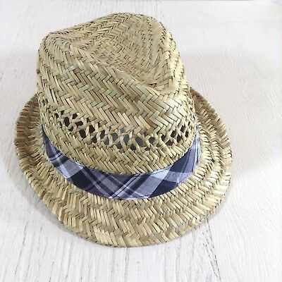 Nordstrom Mens Hat Straw Natural Summer One Size