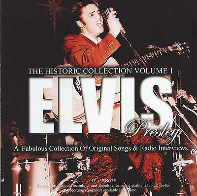 Elvis Presley - The Historic Collection Vol 1 Cd
