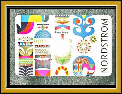 NORDSTROM GIFT CARD - $50.00 VALUE {Cute design! Easy gift idea} *FREE SHIPPING*