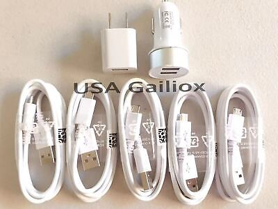 Fast Charging set- Wall Charger + Car Charger+ Micro USB Cable for Android Phone