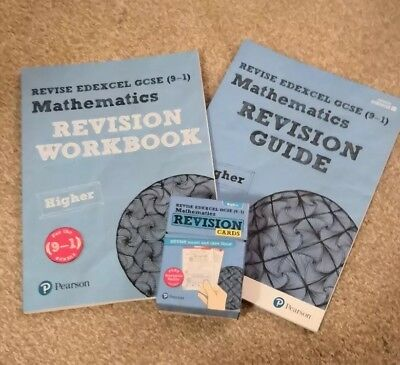 Edexcel Gcse Maths 9-1 Higher Revision Guide, Workbook and revision cards