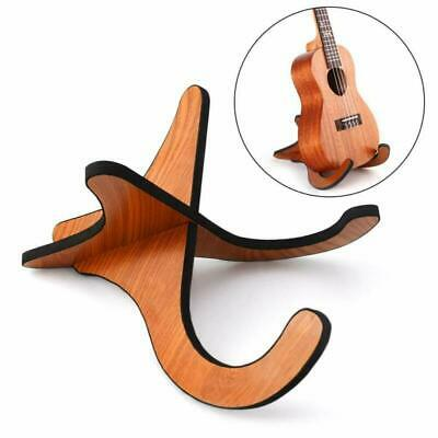 Ansblue Ukulele Stand wooden Stand Foldable Musical Detachable Instrument with X