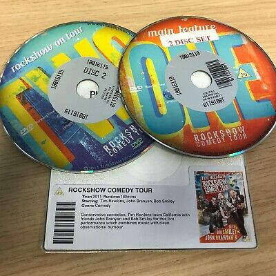 Rockshow Comedy Tour by Crown Entertainment (DVD ) DISC ONLY