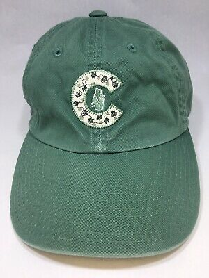 6d6b817542c1a9 Chicago Cubs Baseball Hat Cap Green American Needle Embroidered Cooperstown