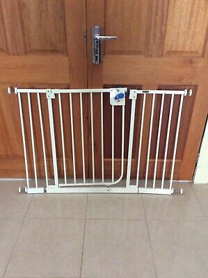 100CM Height Baby Pet Child Safety Security Gate Stair Barrier w/ 40CM Extension