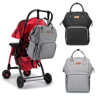 Mummy Maternity Nappy Diaper Bag Large Capacity Baby Bag Travel Backpack w/ USB