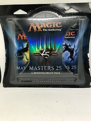 2018 MTG  Magic The Gathering Masters 25 3Pack Booster Draft Pick Trading Cards