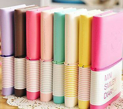 Mini Diary Notebook Writing Paper Journal Travel Pocket Planner Notepad 、NHV