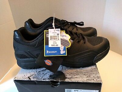 952fa5beee8 NEW DICKIES SPECTRE Mens US 11 M Black Rubber Steel Toe Michelin Sole Work  Shoes -  60.00