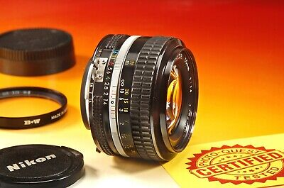 ***EXCELLENT*** NIKON NIKKOR 50mm f/1.4 AI Lens - FAST FREE US SHIPPING