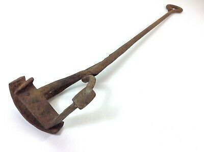 Vintage Hand Forged Branding Iron