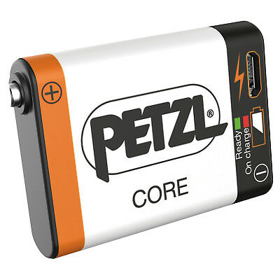 NEW Petzl Core Rechargable Battery Lithium-Ion 1250 mAh With USB Port E99ACA