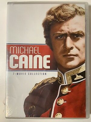 Michael Caine – 7 Movie Collection Sealed DVD Collection