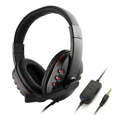 Wired Gaming Headset Headphones For PS4 PC Laptop Macbook Phone FOR XBOX-ONE