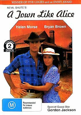"A TOWN LIKE ALICE -  ( TV MINI SERIES featuring ""BRYAN BROWN )"