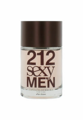 212 Sexy By Carolina Herrera para Hombre Aftershave 101ml Shopworn sin Caja
