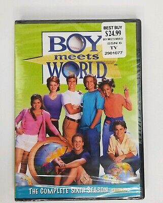 Boy Meets World The Complete Sixth Season 6 (DVD 2011 3-Disc Set) Brand New