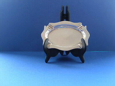 Art Deco Hallmarked Silver Ashtray - R.w.j. Silversmith Birmingham 1935