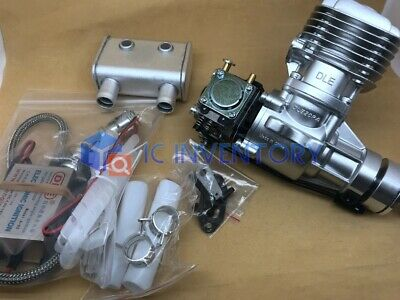 1SET Exhaust Amount 20CC DLE20RA For RC Model Airplane Engine Gasoline Engine