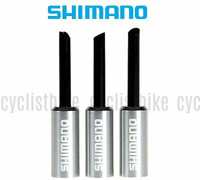 3pc Shimano BC-9000 Outer Cap with Nose for Brake Cable New