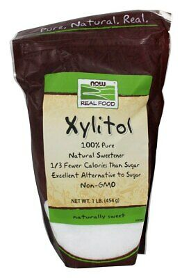 NOW Foods - Xylitol 100% Pure Natural Sweetener