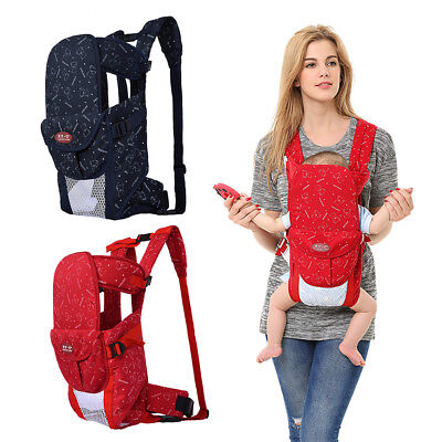 Practical Adjustable Infant Newborn Baby Carrier Removable Ergonomic Backpack