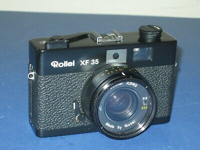 Vintage Rollei XF35 35mm Compact Camera
