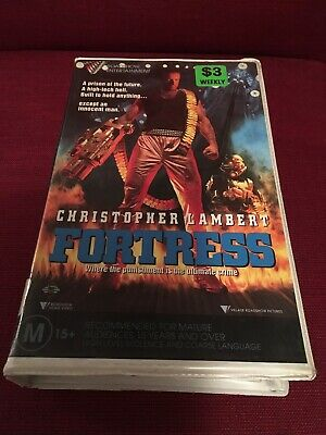 Clamshell Ex Rental Riadshow Video Fortress Vhs