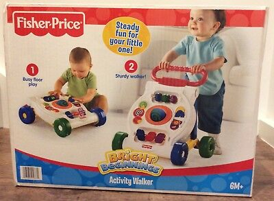 Fisher Price Baby Activity Walker. Brand New in Box. Can pick up from Casula.