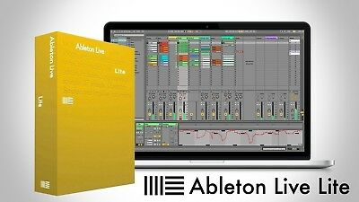 Ableton | Live 10 Lite - DAW Software Program and Activation for PC/MacOS - NEW