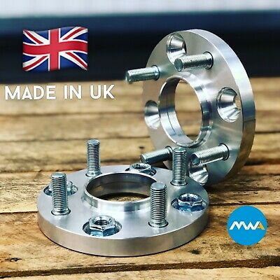 Ford Fiesta Mk7 08-17 inc ST 4x108 15mm per side Hubcentric wheel spacers