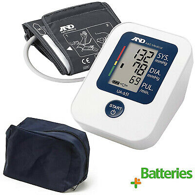 New A&D Medical UA651 Digital Upper Arm Automatic  Blood Pressure Monitor