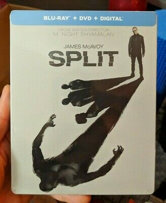 Split - Best Buy Exclusive Steelbook (Blu-ray/DVD) BRAND NEW!!