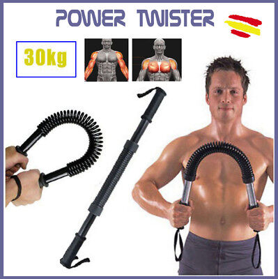 POWER TWISTER Barra de Torsion 30 KGS Musculacion Pesas Ejercicio Fitness