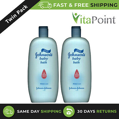 Johnsons Baby Bath Liquid 500ml x2