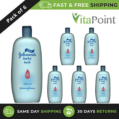 Johnsons Baby Bath Liquid 500ml x6