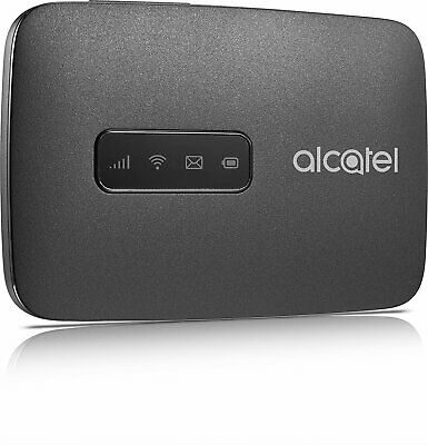 Alcatel MW40V LinkZone Mobile Internet Wifi Hotspot 4G LTE Schwarz Black