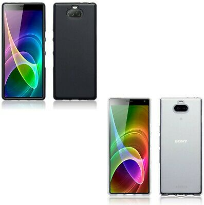 Silicone Slim TPU Gel Back Case Cover For Sony Xperia 10