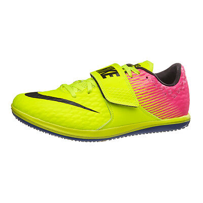 new styles 641bf d8497 New  120 Nike Zoom HJ Elite Track High Jump Track Shoes 806561-999 Volt Sz