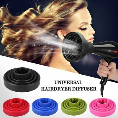 Home Salon DIY Silicone Hair Styling Hairdryer Diffuser Dryer Blower Tool K1