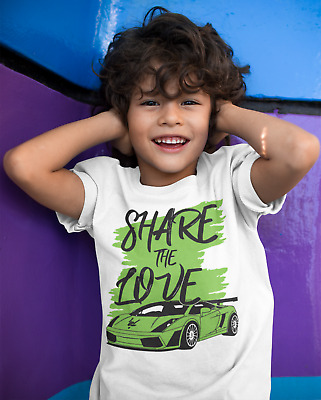 Share the Love GRAFFITI- Cool Sharerghini Youtuber Vlogger WHITE T-Shirt Adults
