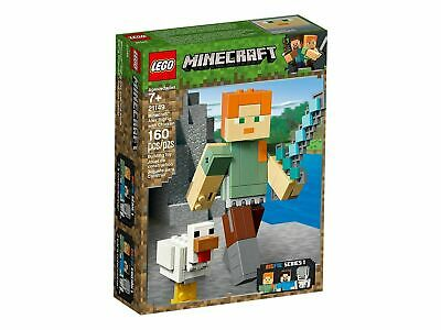 lego 21149 LEGO Minecraft BigFig Alex with Chicken 21149